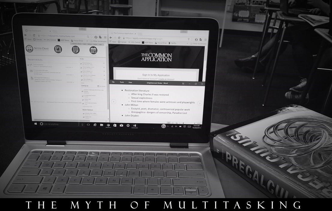 Multitasking//Allison Yeomans
