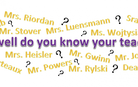 How well do you know your teachers?