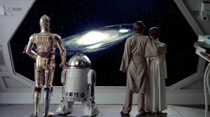 """Man has always grappled with various questions about space, and more recently, have attempted to answer """"what-ifs"""". These questions, such as """"What if we could travel to other planets"""" or """"What if an artificial intelligence becomes too smart"""" are explored in various space movies. Check out this list of the top space movies that have influenced society's perception of space exploration. (Photo: Lucasfilm Ltd.)"""