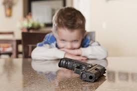 Most young people access guns from their own homes. (Photo/Wikimedia Commons)