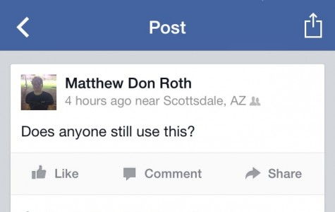 Senior Matt Roth questions the future of Facebook.