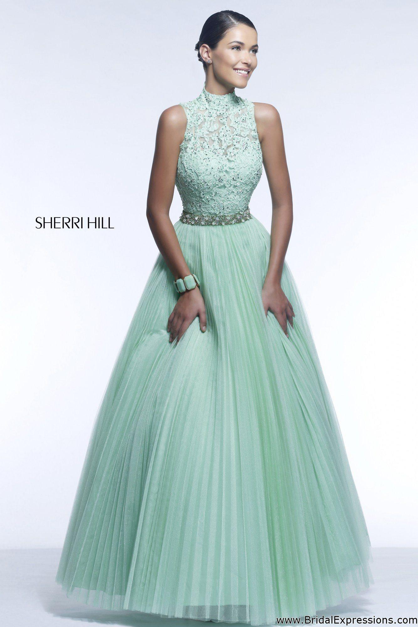High-neck dresses popular for prom – The Seraphim