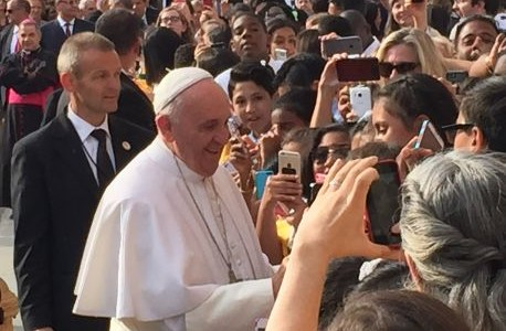Two Saints see the Pope on U.S. visit