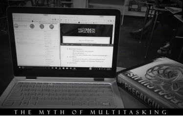 To manage time well, it is helpful to be aware of the myth of multitasking.