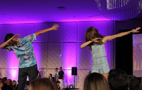 Glittery fashion show features Class of 2016
