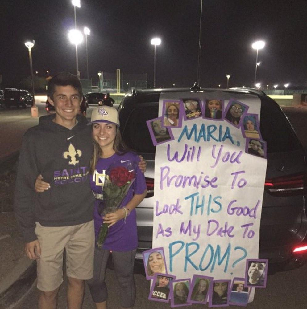 Pressure on for perfect promposal