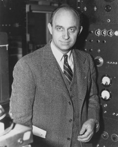 Scientist Enrico Fermi. (Photo: National Archives)