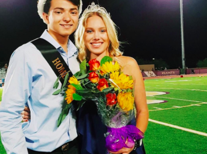 Homecoming King and Queen: Leo Valdez and Ava Schumacher