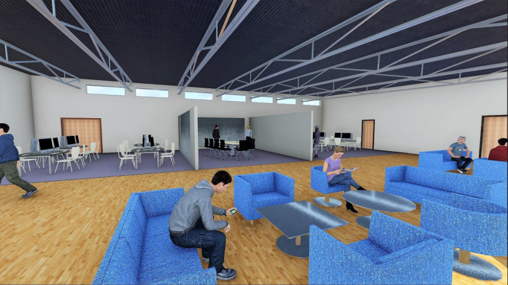 This+is+a+simulated+design+for+the+library+remodeling+project+that+will+happen+during+the+Christmas+break.