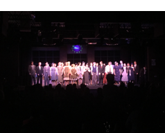 The cast and crew take a final bow (Sarah Ziemann/The Seraphim)