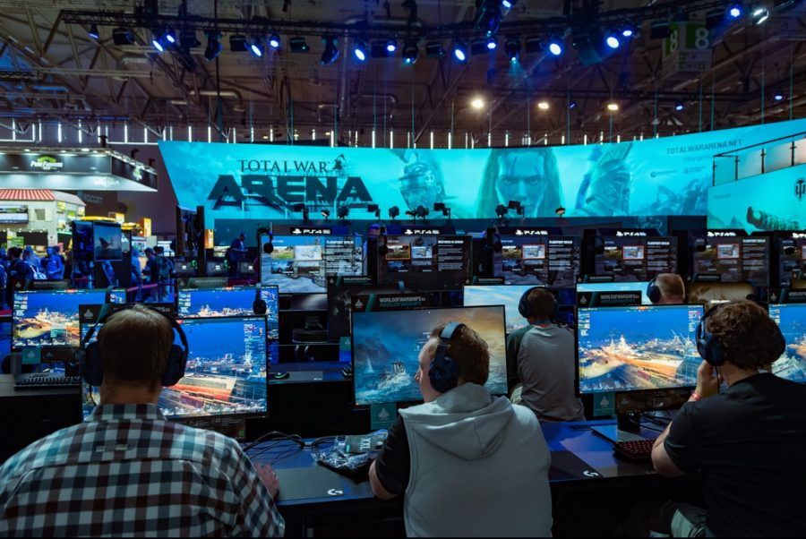 Gamers+compete+at+the+Total+War+Arena+Gamescon+last+year