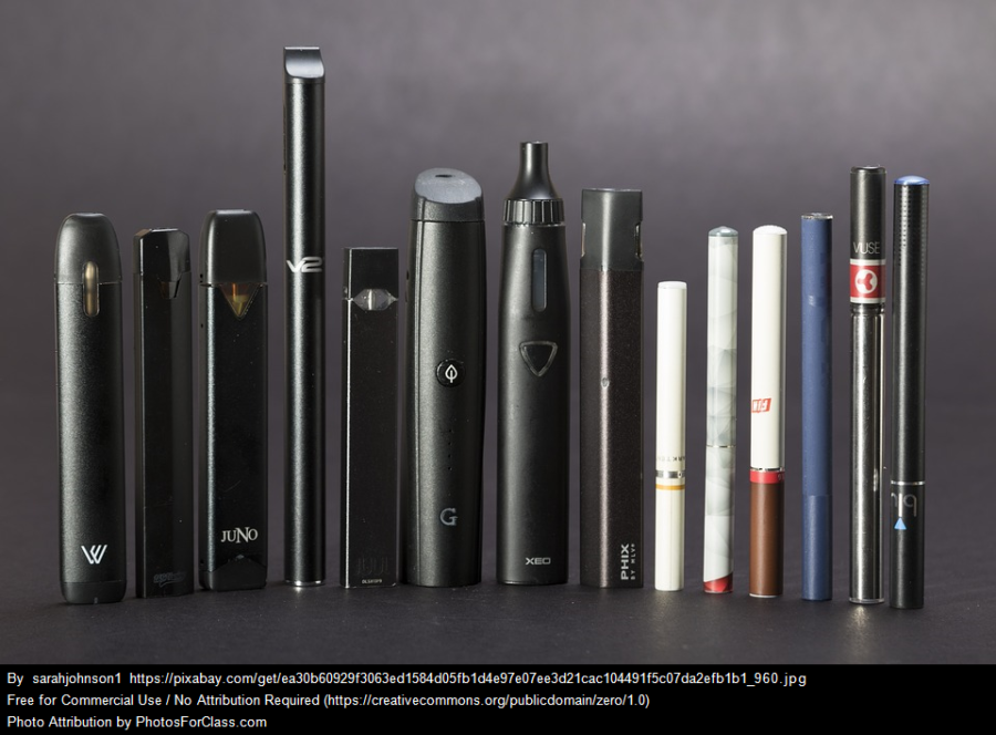 The+JUUL+is+the+fifth+e-cigarette+from+the+left.+While+JUUL+is+the+brand+name+most+students+use+the+term+%22juuling%22+when+smoking+any+e-cigarette.+